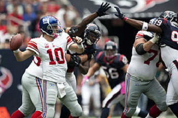 Houston Texans vs NY Giants Free Pick 9/21/2014 - 9/21/2014 Free NFL Pick Against the Spread
